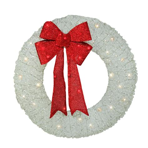Wreaths Clear Or White Lights - Sears.