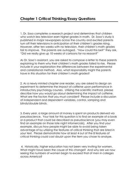 critical thinking essay example related essays critical thinking  writing a paper on critical thinking critical thinking essay example
