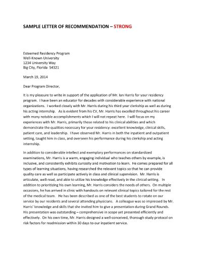 [pdf] Writing A Letter Of Recommendation - Hhmi Org.