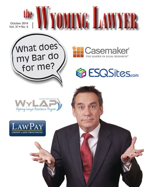 Wyoming Lawyer Magazine