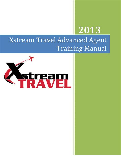 [pdf] Xstream Travel Advanced Agent Training Manual.