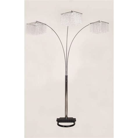 Yhior 84 In 3 Crystal Inspirational Arch Floor Lamp From .