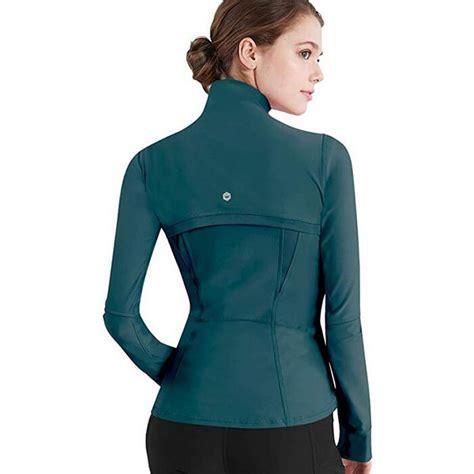 Yoga Jackets with Thumb Holes