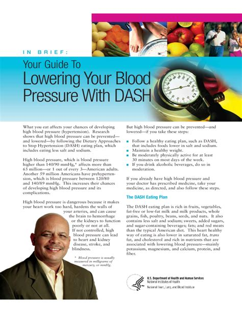 [pdf] Your Guide To Lowering Your Blood Pressure With Dash.
