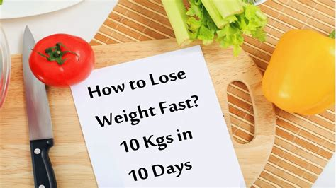 Youtube How To Lose Weight In 10 Days