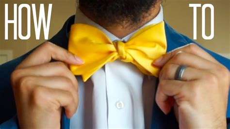 [pdf] Youtube Video On How To Tie A Bow Tie.