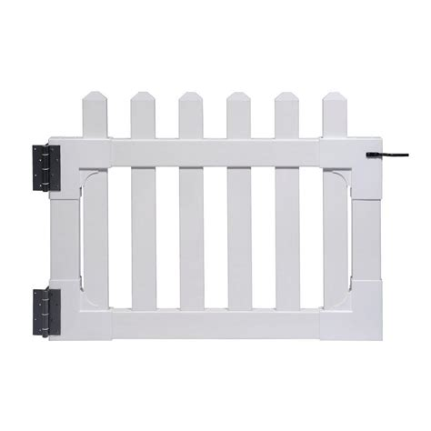 Zippity Outdoor Products Zp19004 Newport Vinyl Picket .