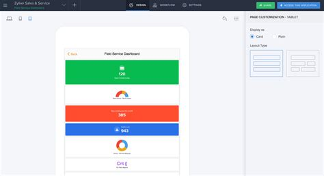 Zoho Revamps Zoho Creator; Adds New Mobile App Creation.
