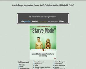 [pdf] Starve Mode-From The Sellers Of The Fat Loss Troubleshoot.