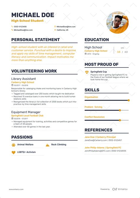 example of first resume resume resume example after first job