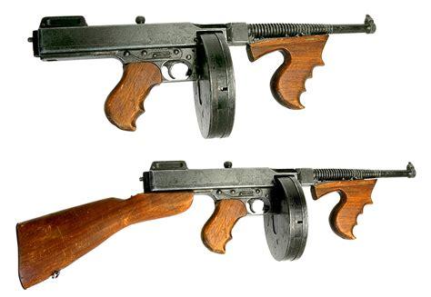 Tommy-Gun A Tommy Gun.