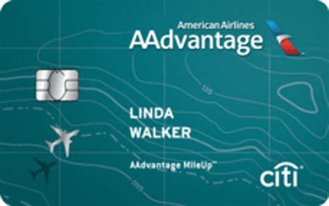 Aa Credit Card Bonus Miles Airline Miles Credit Card Citir Aadvantager Platinum