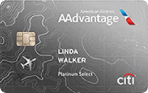 Aa Credit Card Bonus Miles Citibusiness Aadvantage Platinum Select World Mastercard