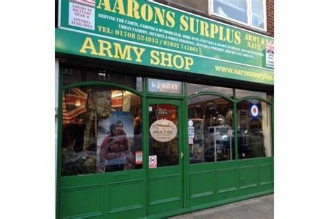 Army-Surplus Aarons Surplus Army & Navy Ltd