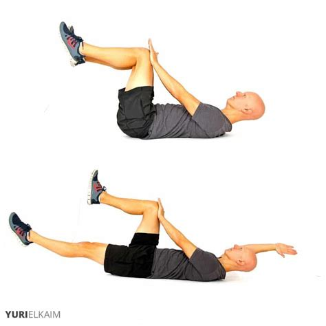 ab and hip flexor exercises with resistance cords