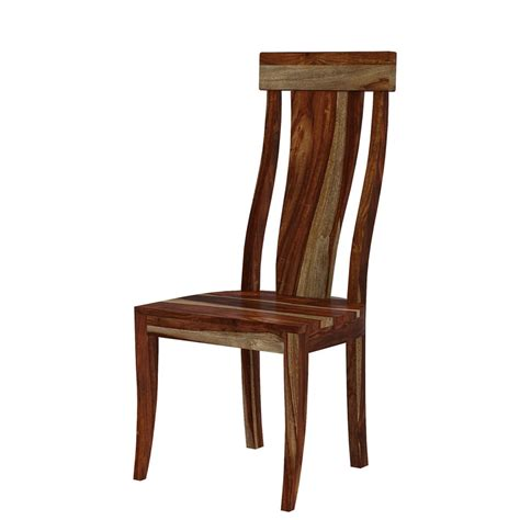 Abella Slat Back Solid Wood Dining Chair