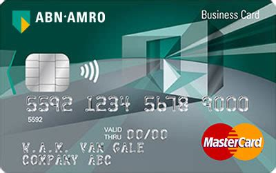 Abn Amro Credit Card Services Online Creditcard Credit Card Aanvragen Abn Amro