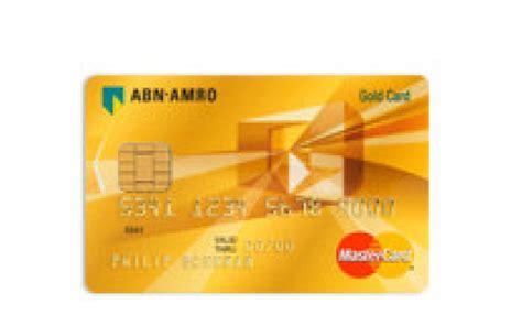 Abn Amro Credit Card Rekening Creditcard Credit Card Aanvragen Abn Amro