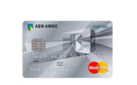 Abn Amro Credit Card Rekening Extra Creditcard Abn Amro