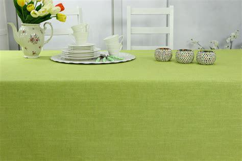 Abwaschbare Tischdecke Grün