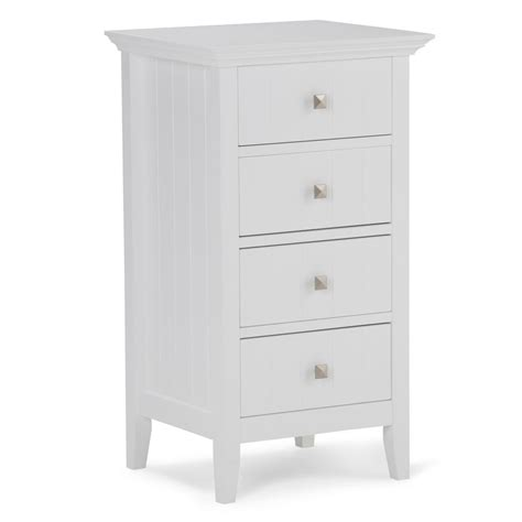 Acadian 18 W x 32.09 H 4 Drawer Bathroom Storage
