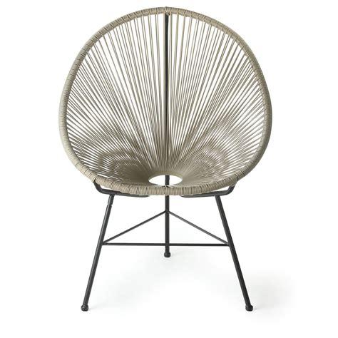 Acapulco Wire Basket Papasan Chair