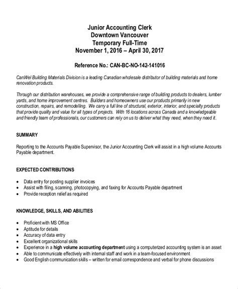 Accounting Clerk Ii Resume | Last Name Letters