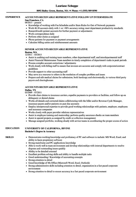 Accounting Receivable Resume Sample Sample Accounting Resume And Tips