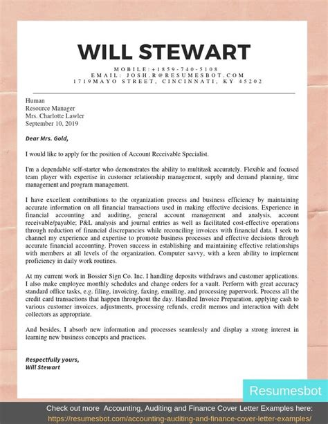Cover Letter For Accounting Position Sample Venja Co Resume And Seo Expert
