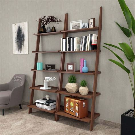 Ace Ladder Bookcase (Set of 2)