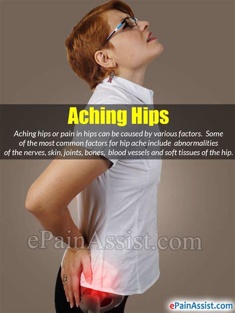 aching hip pain
