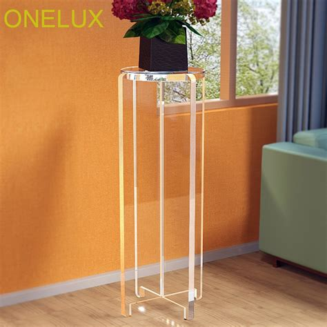 Acrylic Flower Plant Stand