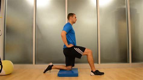 active kneeling hip flexor stretch benefits