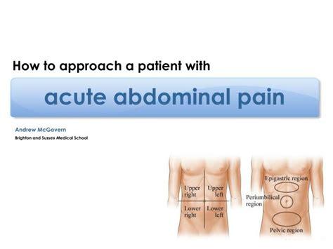 acute abdominal pain ppt