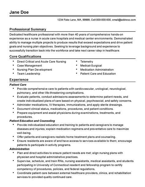 acute care nurse resume sample sample nursing resume best sample resumes sample care nurse resume