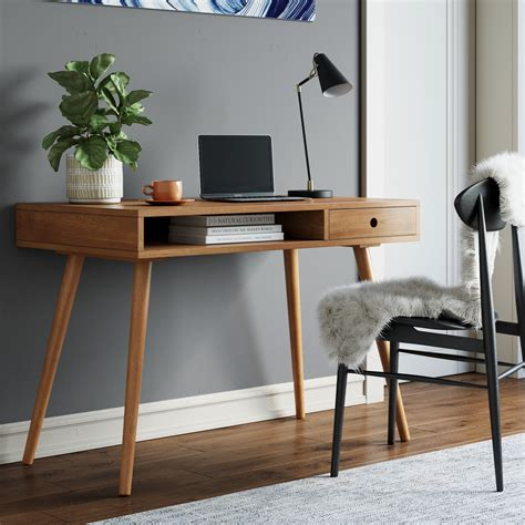 Adalyn 2 Drawer Compact Writing Desk