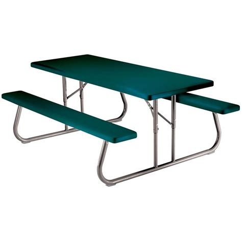 Adam Folding Plastic/Resin Picnic Table