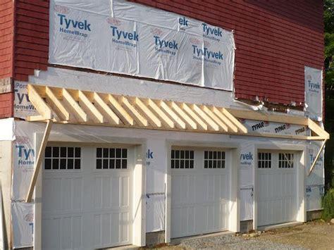 Adding Garage Overhang Design