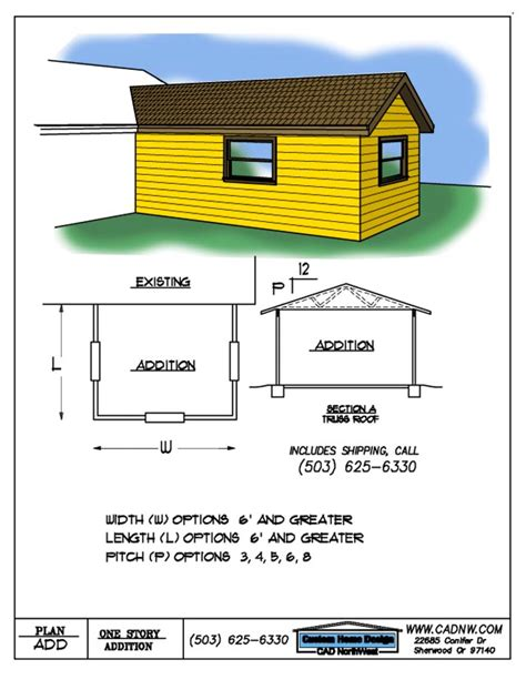 addition plans drawings
