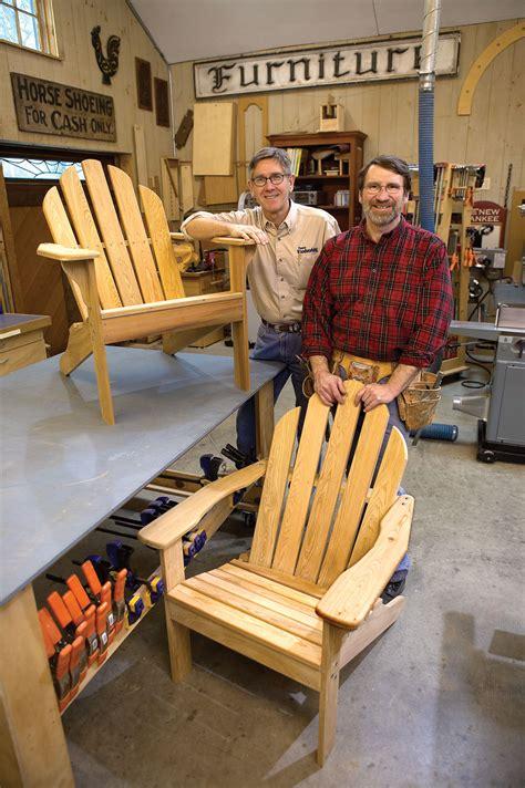 Adirondack Chair Plans New Yankee Workshop