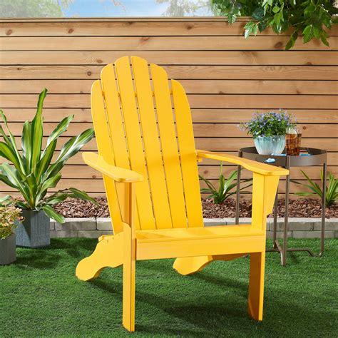Adirondack Chair Yellow