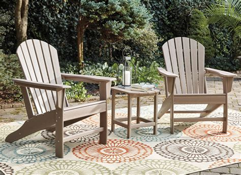 Adirondack Chairs And Table Set