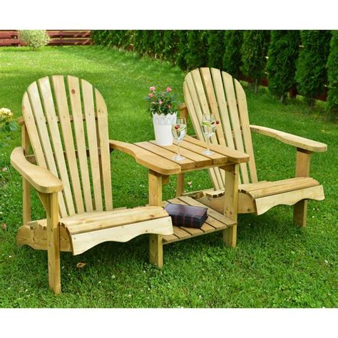 Adirondack Chairs Double