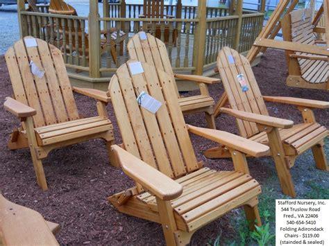 Adirondack Chairs Stafford Va