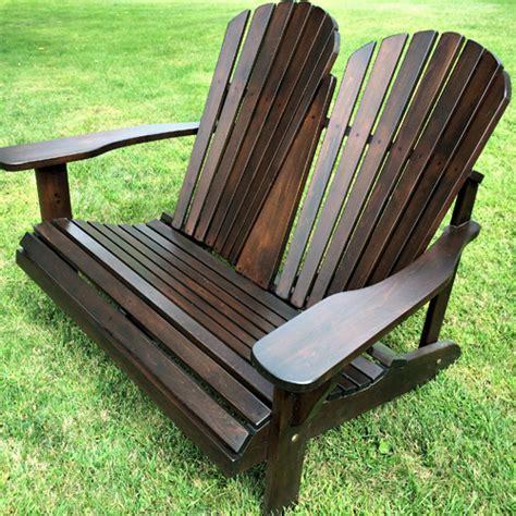 Adirondack Double Chairs
