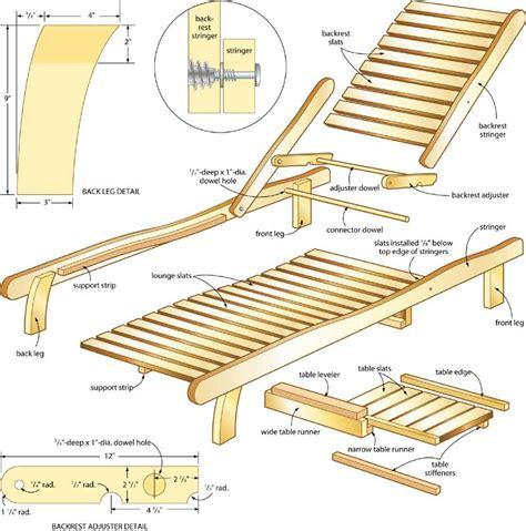 Adirondack Lounge Chair Plans