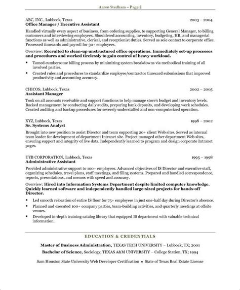 Administrative Assistant Resume Objective Statement Samples Non Profit Administrative Assistant Resume Objective Sample