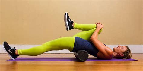 advanced hip flexor stretches with foam