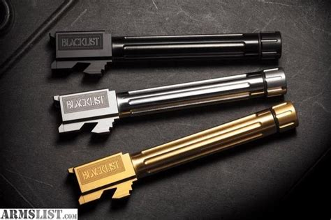 Glock-19 Aftermarket Glock 19 Barrel.