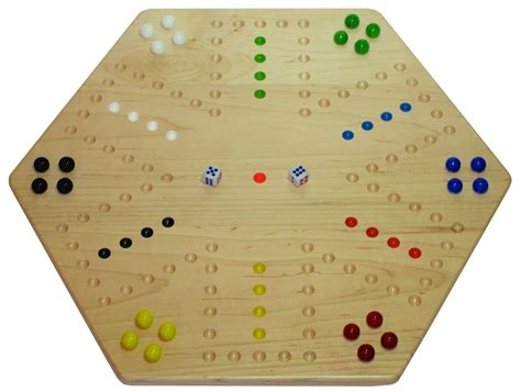 Aggravation Game Board Pattern Template